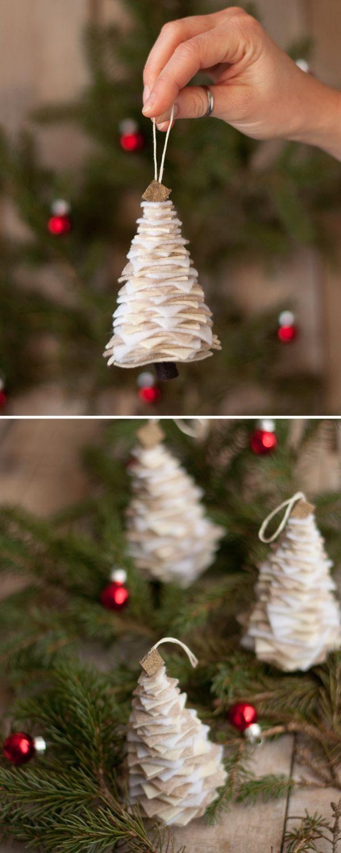 Как сделать креативную елку своими руками