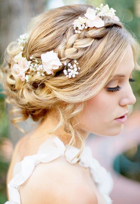 Свадебные прически 2015 (5)
