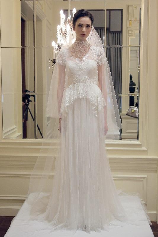 Свадебные платья 2015 и прически (7)