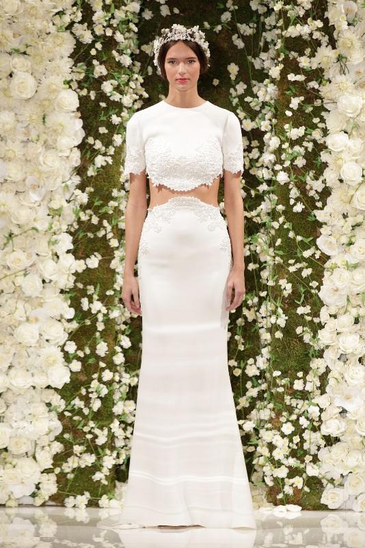 Свадебные платья 2015 и прически (6)