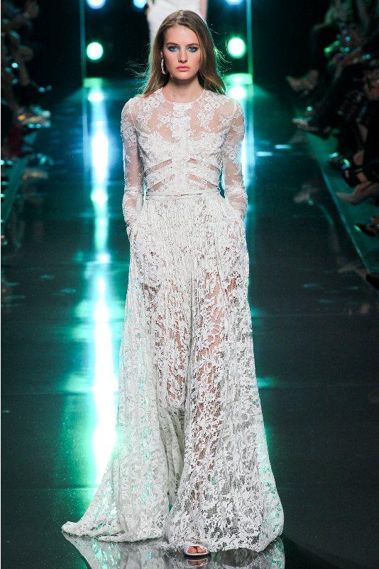 платье цветное с воланами