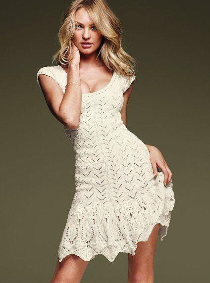 Вязаные платья 2016