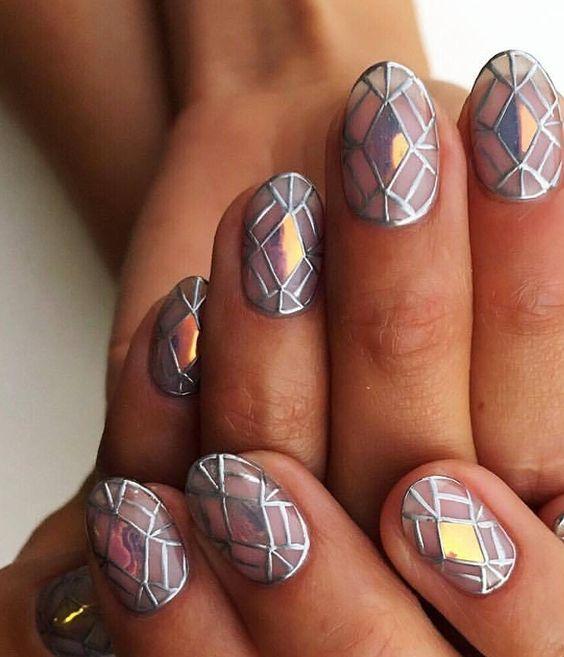 Дизайн ногтей 2018, фотомм