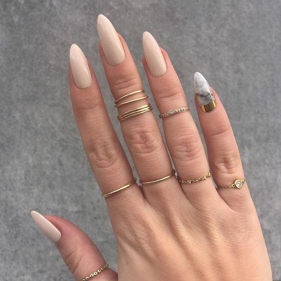 Длинные ногти осень 2017-2018
