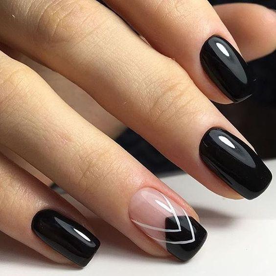 Модный маникюр осень-зима / ногти дизайн