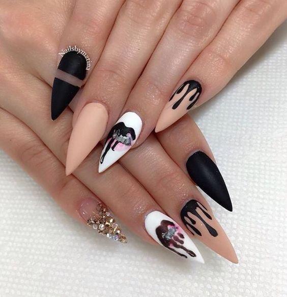 Дизайн ногтей 2018 фото с рисунком