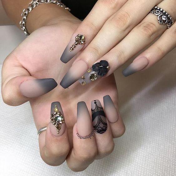 Рисунки на ногтях 2018 фото