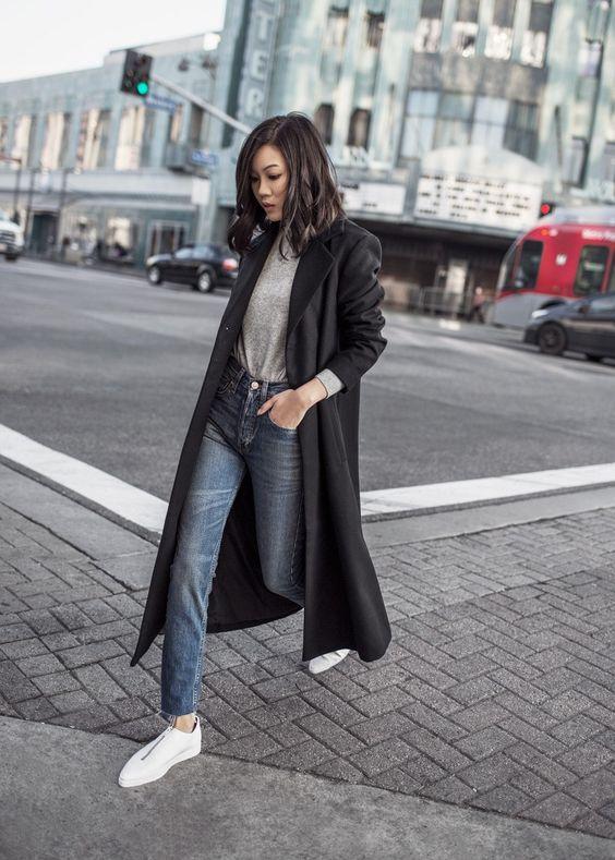 Модные пальто весна 2018 фото (25)