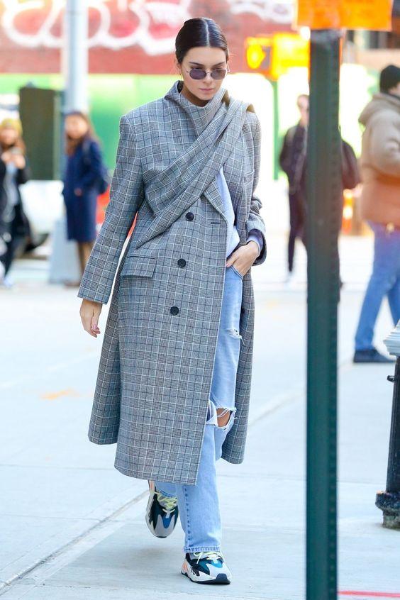 Модные пальто весна 2018 фото (30)