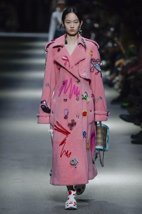 Модные пальто весна 2018 фото (38)
