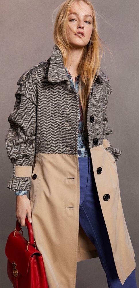 Модные пальто весна 2018 фото (37)