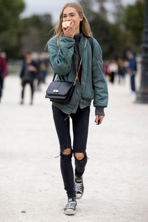 Куртки весна 2018 женские, фото (30)