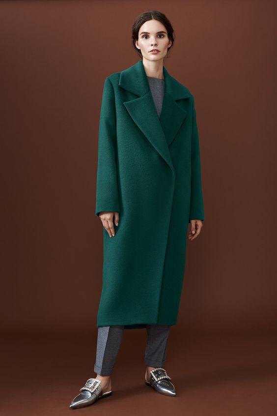Модные пальто весна 2018 фото (24)