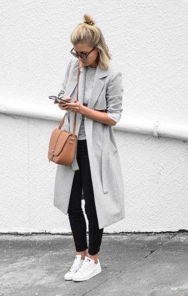 Модные пальто весна 2018 фото (32)