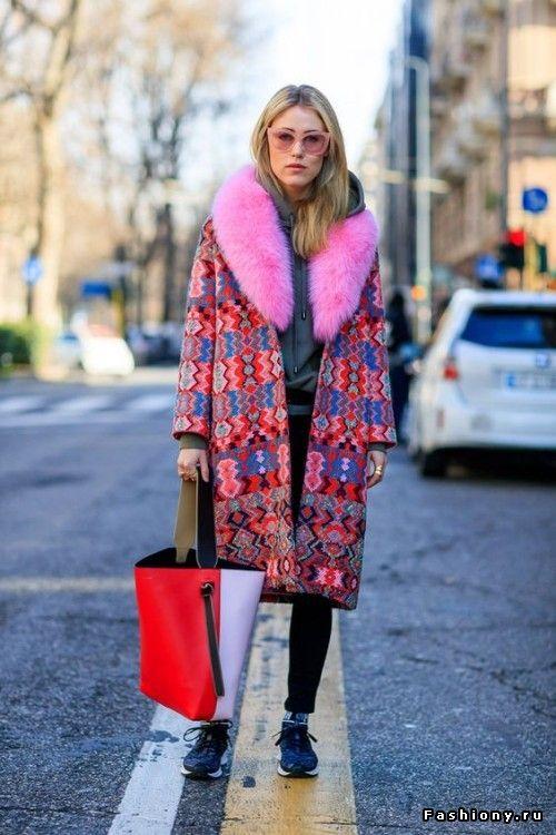 Модные пальто весна 2018 фото (33)