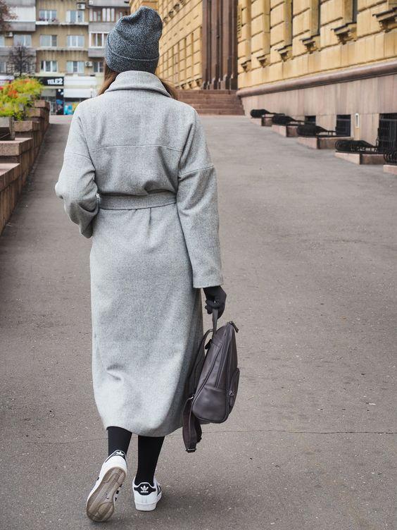 Модные пальто весна 2018 фото (16)