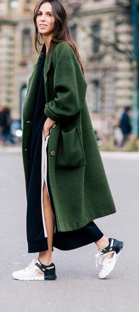 Модные пальто весна 2018 фото (14)