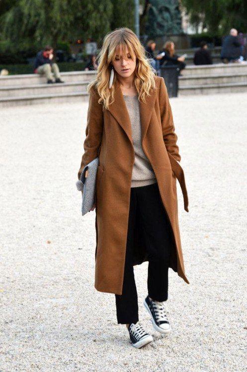 Модные пальто весна 2018 фото (10)
