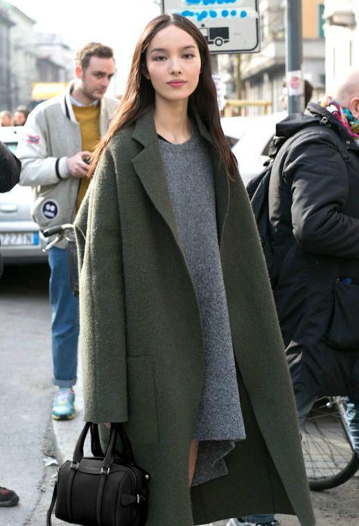 Модные пальто весна 2018 фото (3)