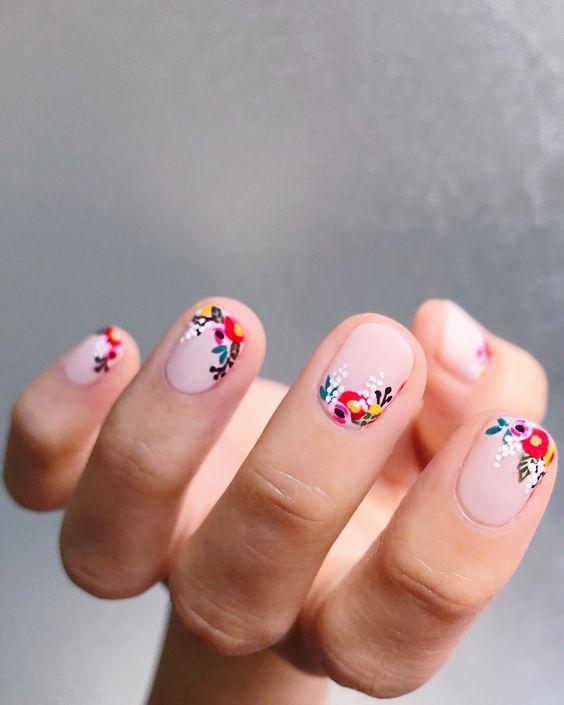 Ногти гель лето 2018 (15)
