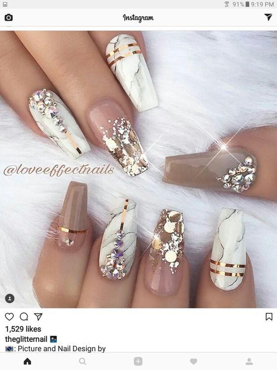 Ногти осень 2018 фото новинки (23)