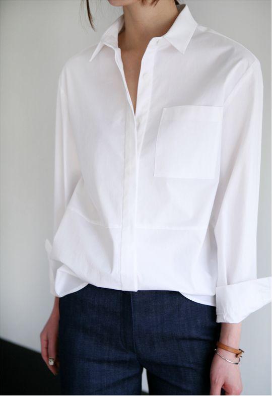 Белые блузки 2018-2019 (12)