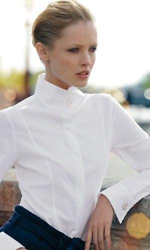 Белые блузки 2018-2019 (5)