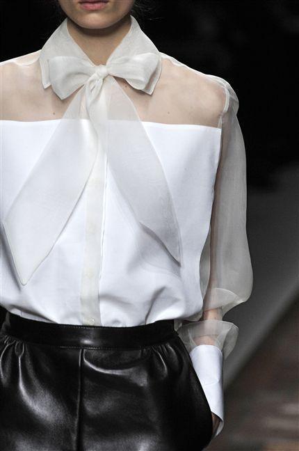 Белые блузки 2018-2019 (2)