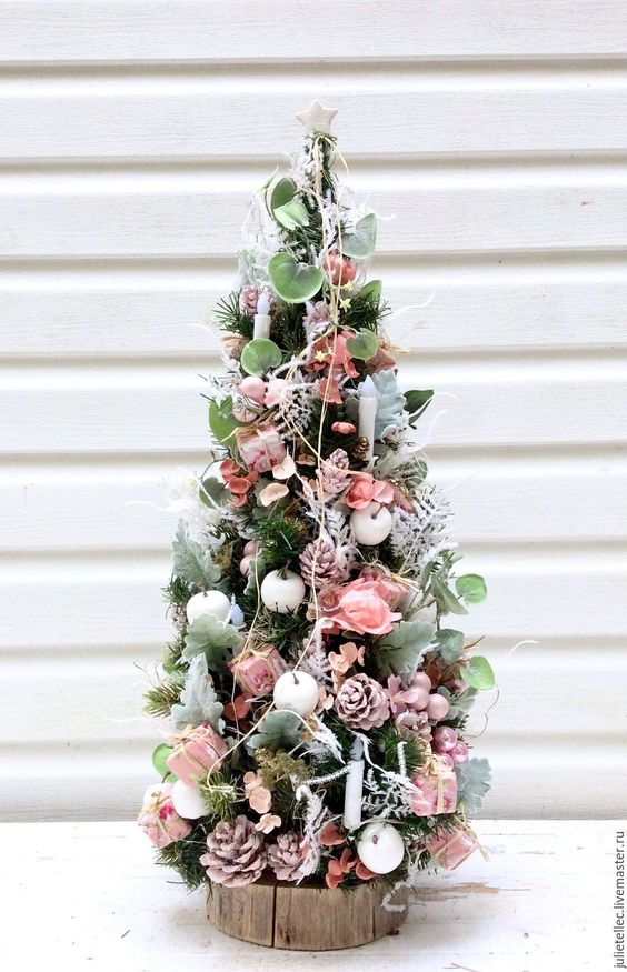 Как украсить ёлку к Новому году 2019? (17)
