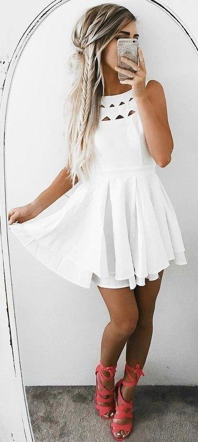 Короткие новогодние платья 2019 (6)