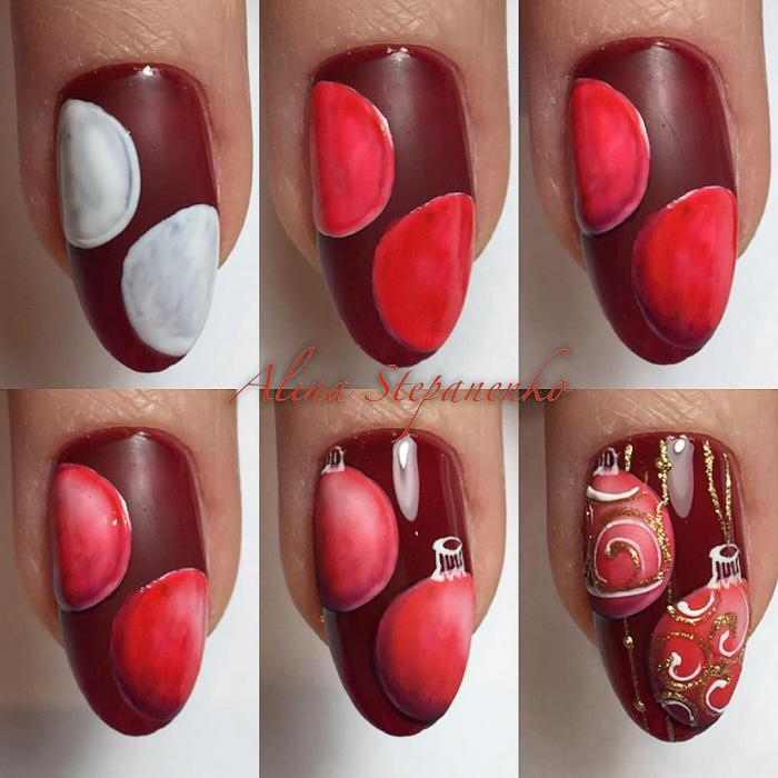 Красивый осенний дизайн ногтей 2019 (87)