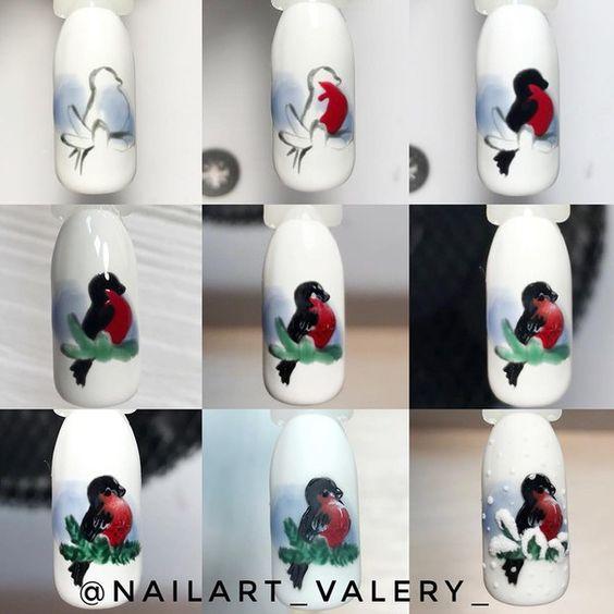 Красивый осенний дизайн ногтей 2019 (31)