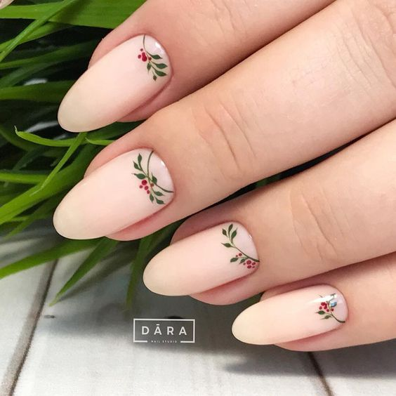 Дизайн ногтей зима 2019 фото новинки (18)