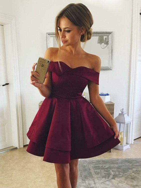 Короткие новогодние платья 2019 (25)