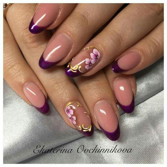 Красивый осенний дизайн ногтей 2019 (75)