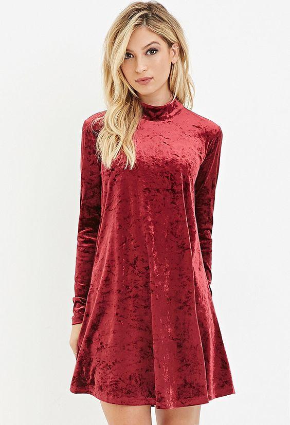 Короткие новогодние платья 2019 (40)