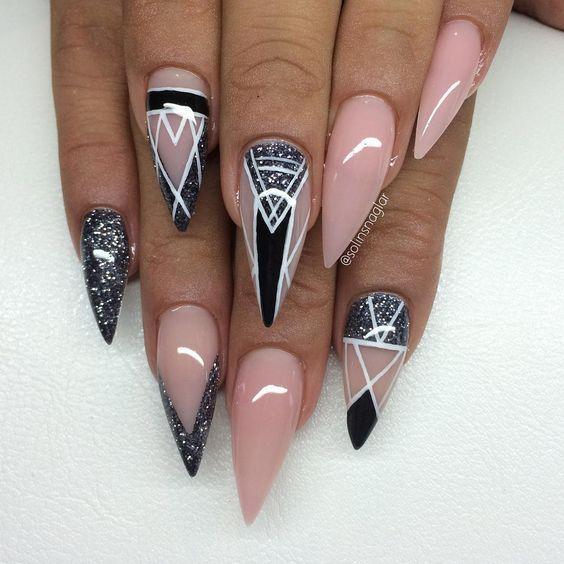 Красивый дизайн ногтей 2019 (77)