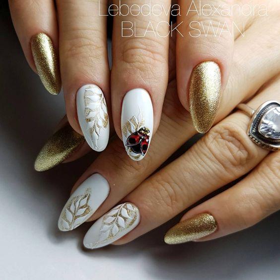 Красивый осенний дизайн ногтей 2019 (71)
