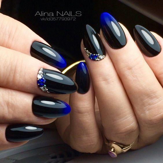 Красивый осенний дизайн ногтей 2019 (70)