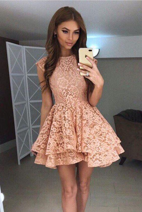 Короткие новогодние платья 2019 (38)