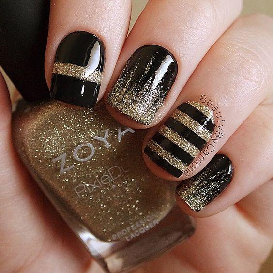 Дизайн ногтей на Новый год 2019 (4)