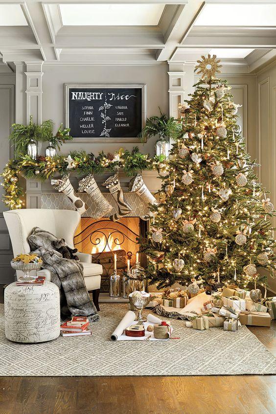 Как украсить ёлку к Новому году 2019? (7)