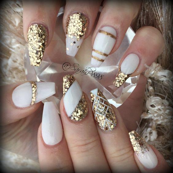 Дизайн ногтей на Новый год 2019 (3)