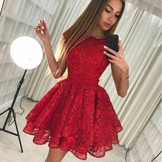 Короткие новогодние платья 2019 (24)