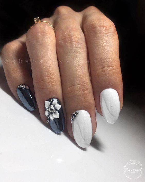 Красивый осенний дизайн ногтей 2019 (39)