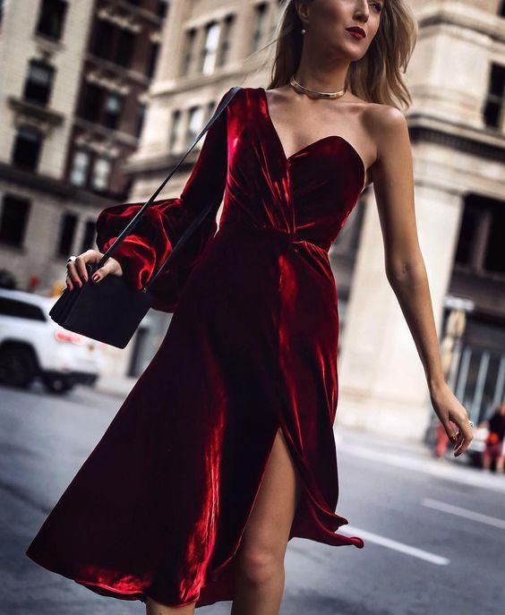 Короткие новогодние платья 2019 (37)
