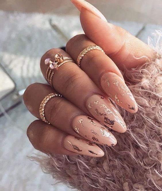 Дизайн ногтей зима 2019 фото новинки (9)