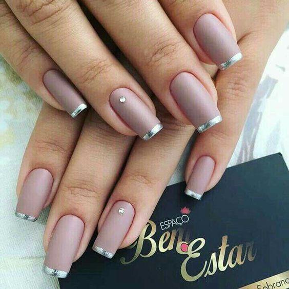 Красивый осенний дизайн ногтей 2019 (38)