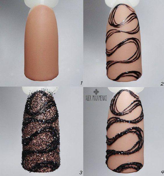 Красивый осенний дизайн ногтей 2019 (30)