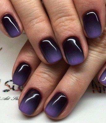 Красивый зимний дизайн ногтей 2019 (39)